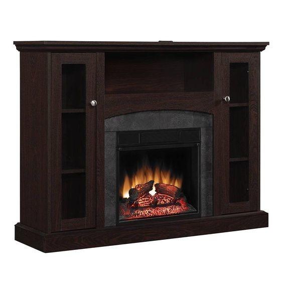 Mueble calefactor chimenea el ctrica contempor nea 121cm r c 8 en mercado libre - Chimenea electrica mueble ...