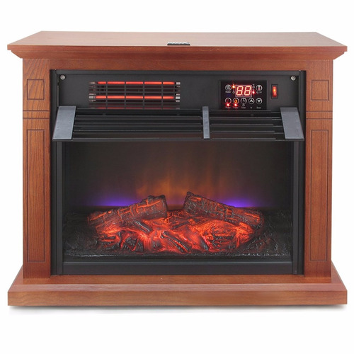Mueble calefactor chimenea el ctrica infrarrojo 7 449 - Chimenea electrica mueble ...