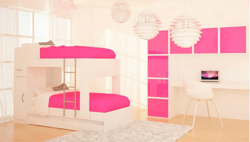 mueble cama marinera cucheta triliche + placard 2 puertas