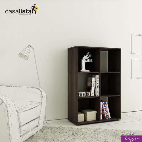 mueble casa lista® hogar - biblioteca cubos  2x3