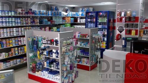 mueble central para tiendas, farmacias ferreterias joyerias