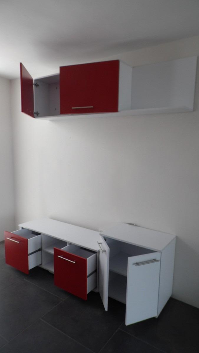 Mueble centro de tv pantalla plana lcd 3d 1 80 de largo - Muebles para tv plana ...