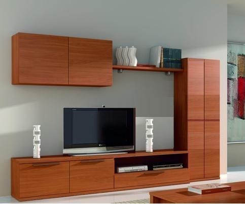 Mueble centro de tv para pantalla lcd plana 3d - Mueble alto para tv ...