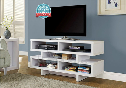 mueble centro entretenimiento sala dormitorio melamine