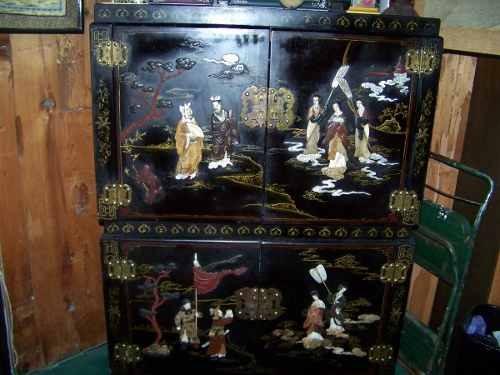Mueble chino antiguo con adornos u s 1 en mercado - Mueble chino antiguo ...
