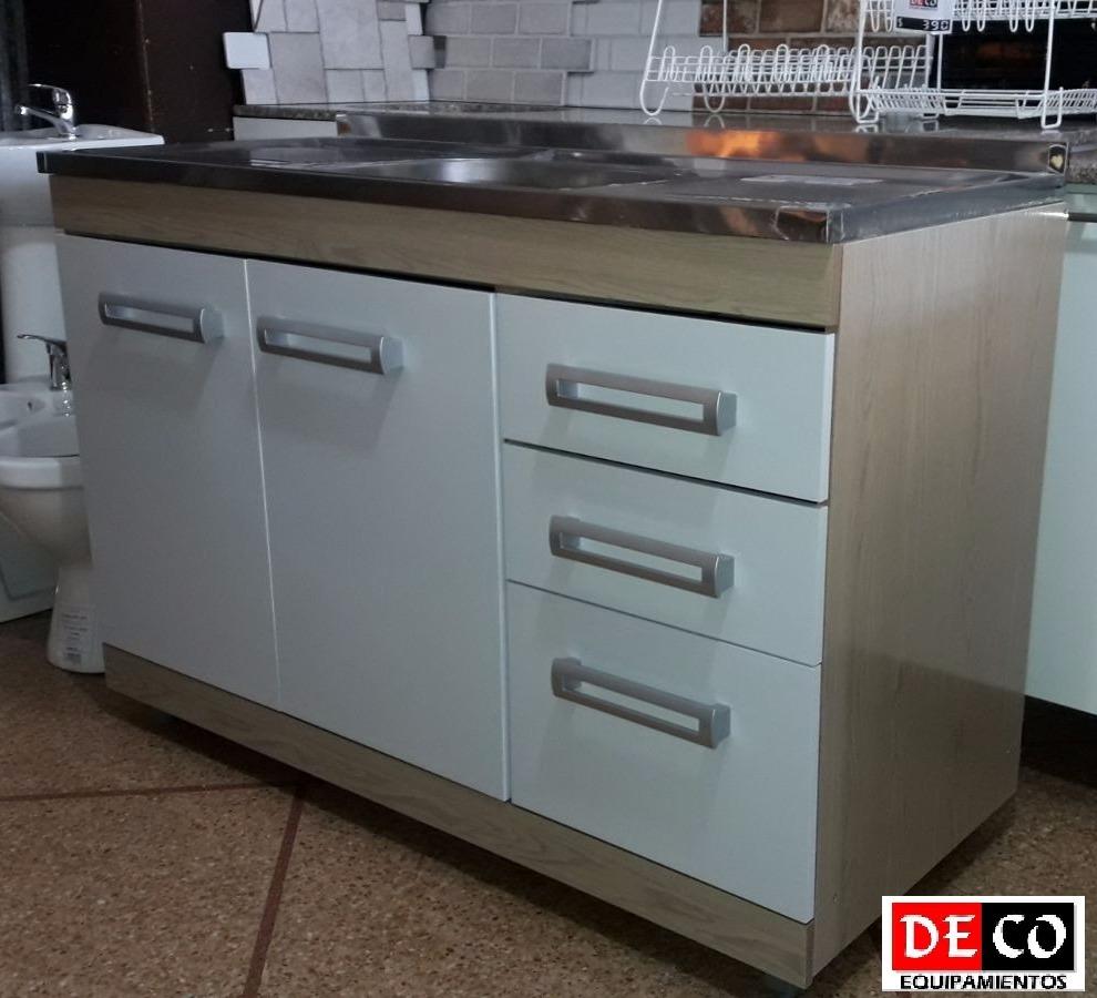Muebles cocina acero inoxidable cocina con mobiliario en for Armado de muebles de cocina