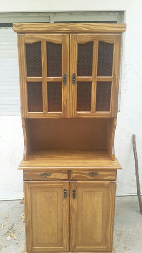 Mueble cocina 4 puertas 2 cajones 100 madera for Mueble 4 puertas