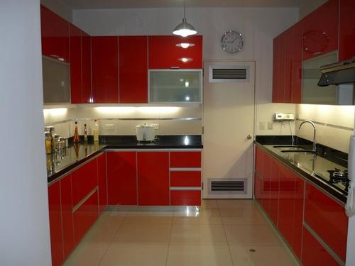 Mueble cocina a medida a reo bajo mesada con o sin granito for Medidas muebles bajos cocina