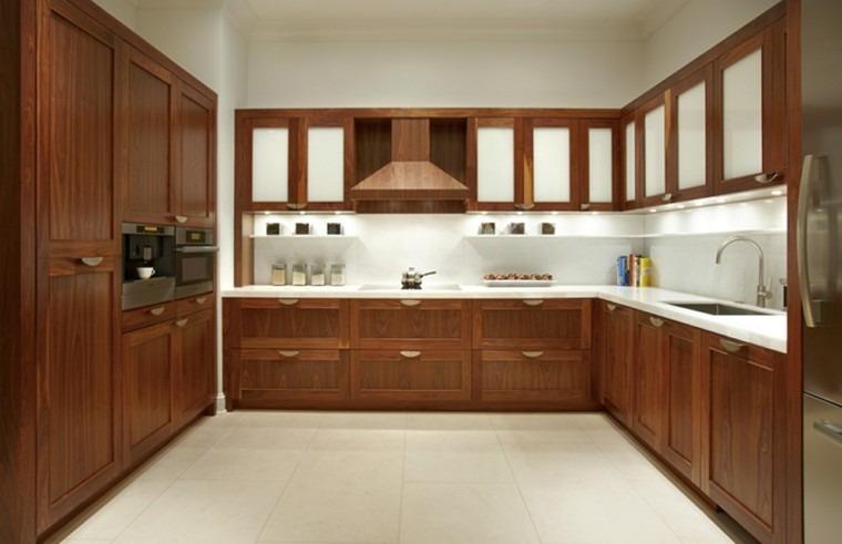Mueble Cocina A Medida Bajomesada Madera Masiza Lustre Color - $ 600 ...