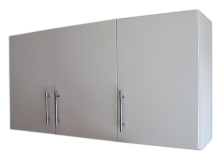 Alacena mueble para cocina 120cm 3 puertas estantes a - Mueble alacena cocina ...