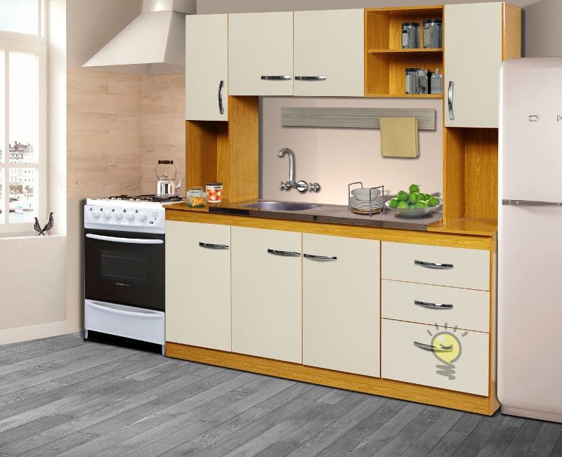 Combo Mueble De Cocina Alacena Bajomesada Sin Mesada Organizador Modular