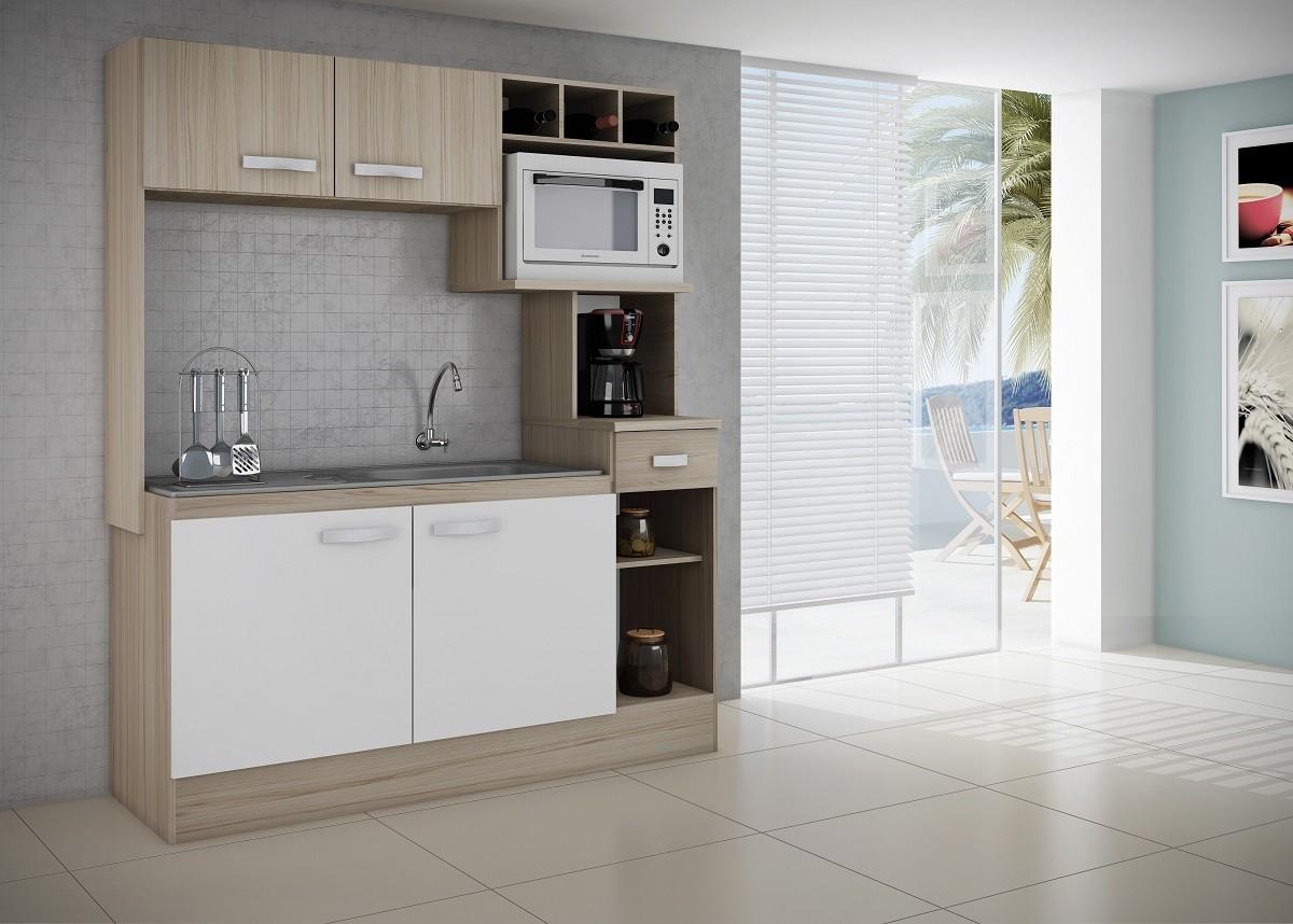 Mueble de cocina compacta alacena kit en for Mueble alacena