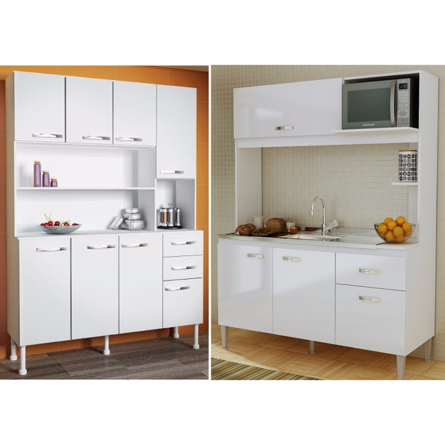 Kit mueble cocina alacena 8 puertas 2 cajones en mercado libre - Alacena cocina ...