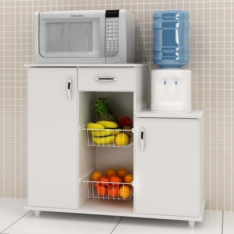 Mueble cocina alacena armario multiuso microonda Muebles de cocina para microondas