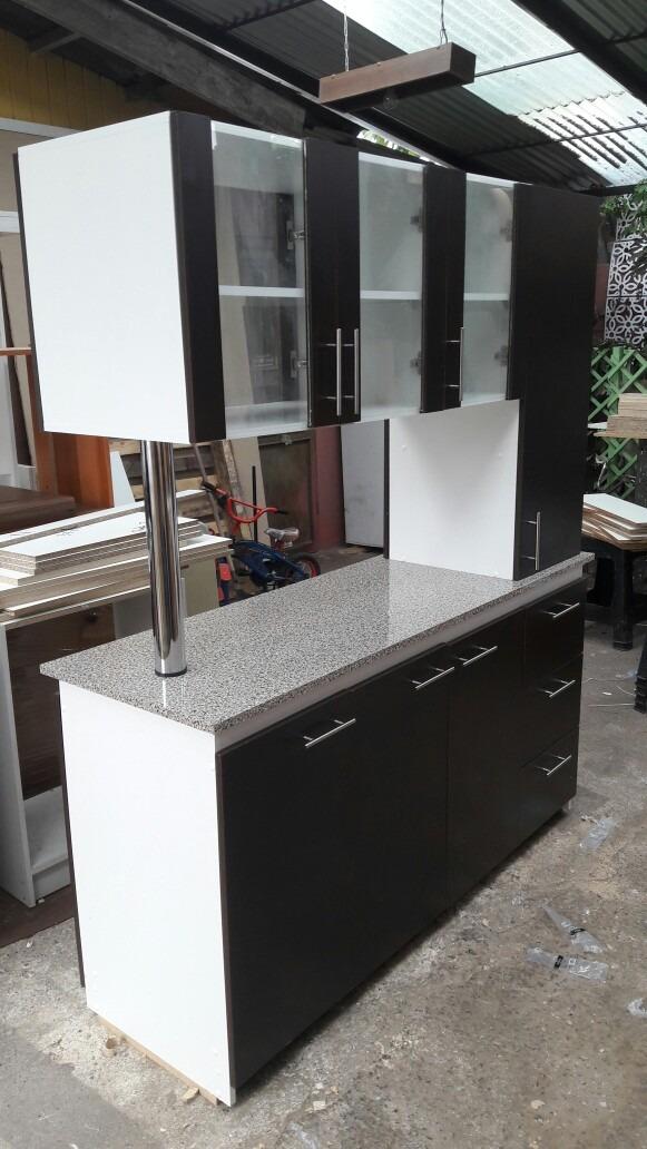 Mueble cocina americano en mercado libre for Esmalte para muebles de cocina