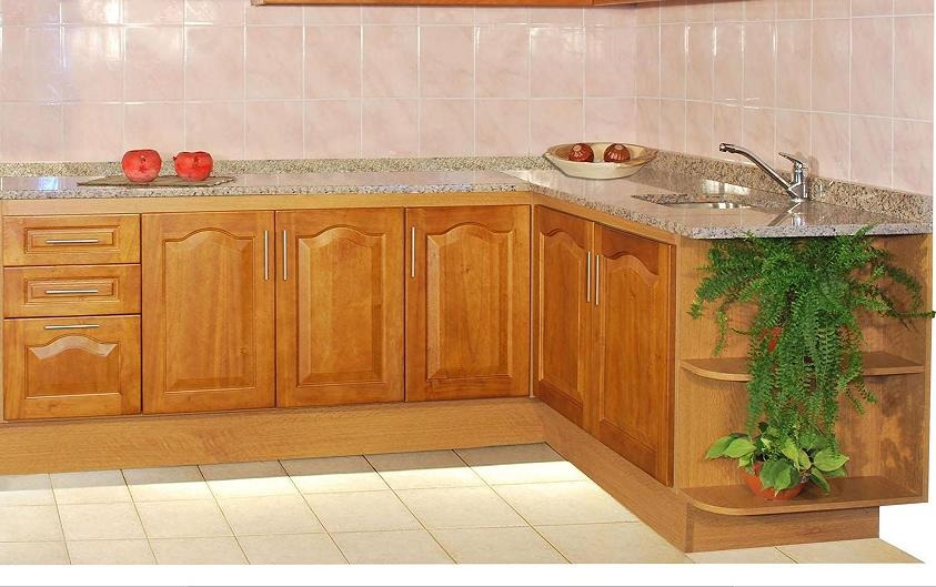 Muebles cocina antiguos pasos para pintar los muebles de for Cocina con muebles antiguos