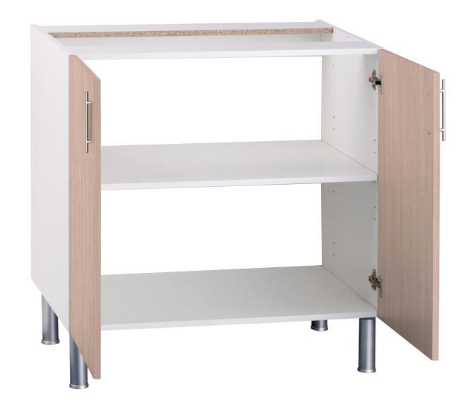 Mueble Cocina Bajo Para Fregadero 100 Cm Melamina - Bs. 1.200.000,00 ...