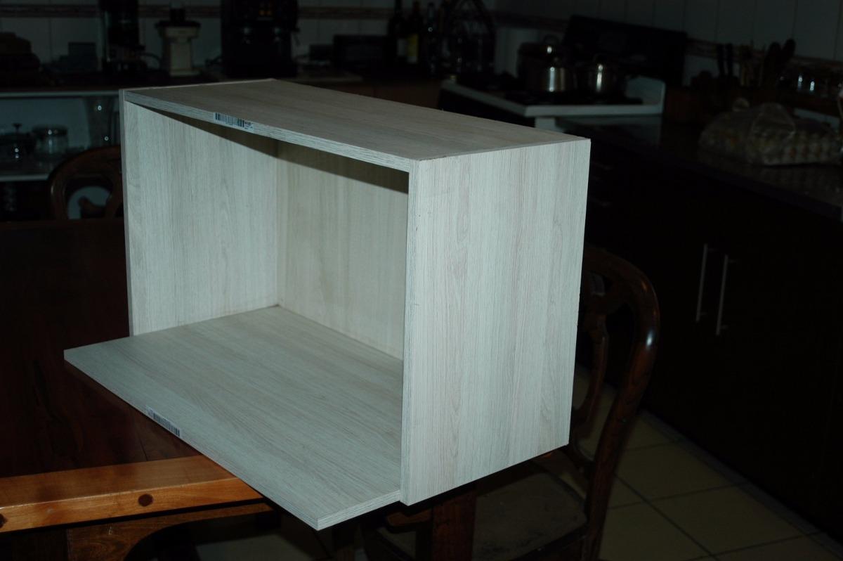 Mueble cocina colgante para usar como repisa o p Muebles de cocina para microondas