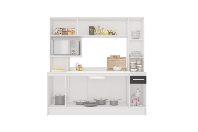 Mueble Cocina Compacta Napoles Sensacion - $ 4.590,00 en Mercado Libre