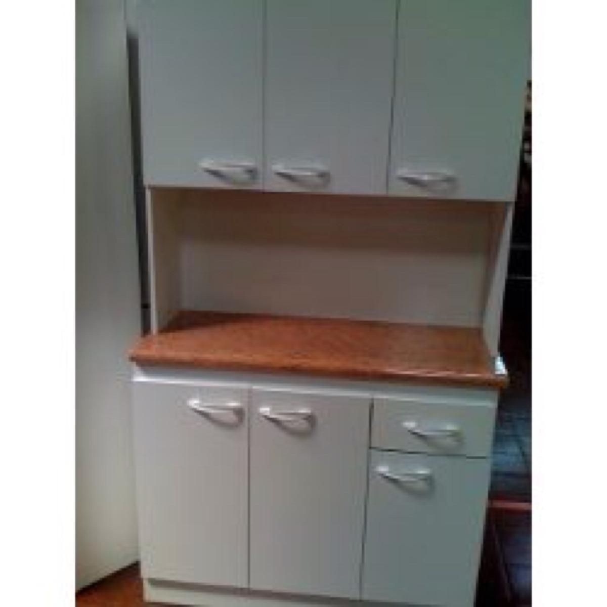 Mueble cocina compacto en mercado libre for Muebles de cocina 2 metros