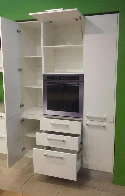 Mueble Cocina De Lujo Guardado + Portahorno Kit Para Armar ...