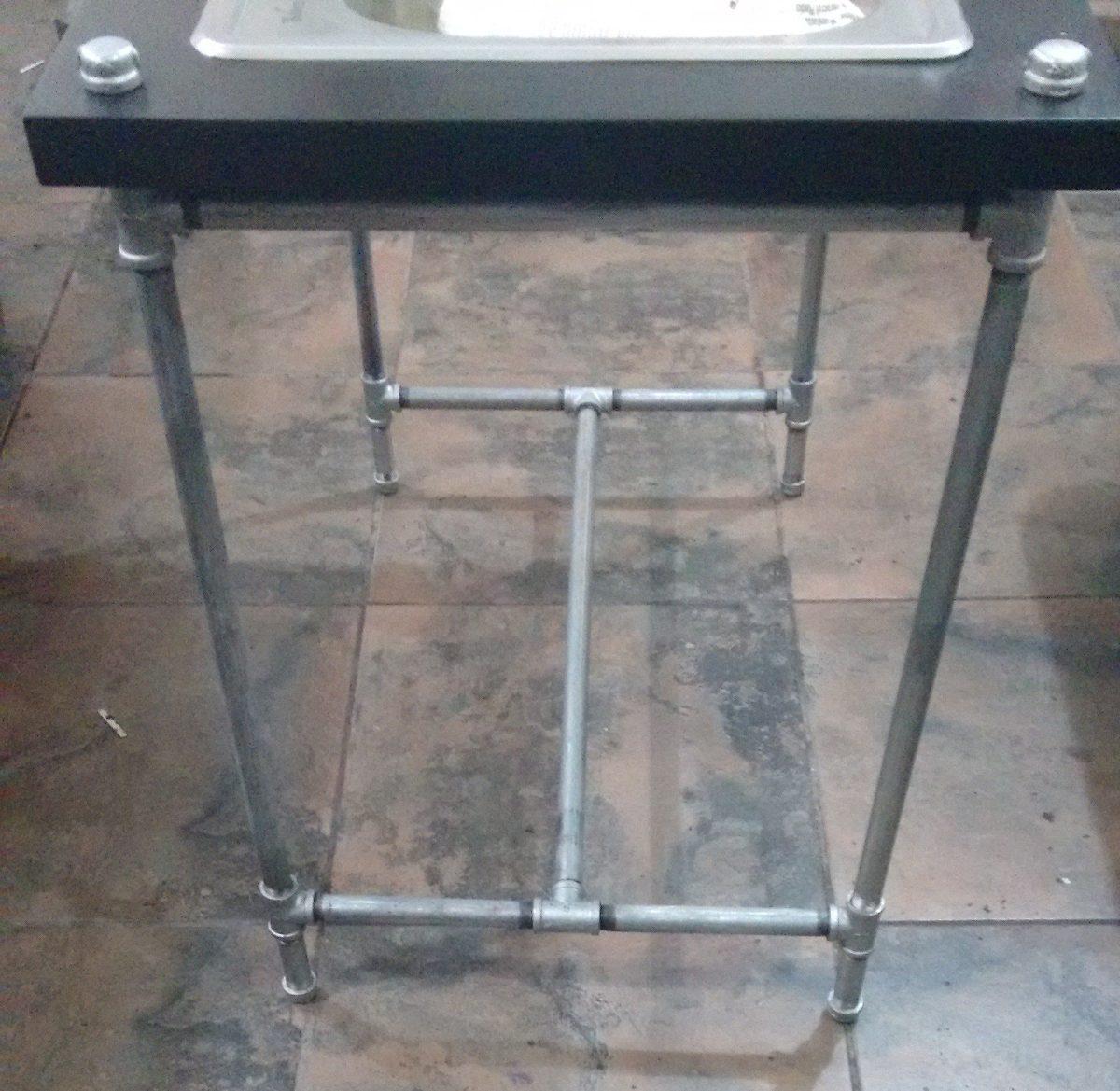 Mueble cocina estilo industrial con accesorios 4 550 - Mueble estilo industrial ...