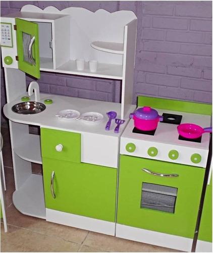 mueble cocina infantil rincon juego casita infantil madera
