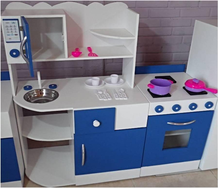 Mueble Cocina Infantil Rincon Juego Casita Infantil Madera - $ 4.500 ...