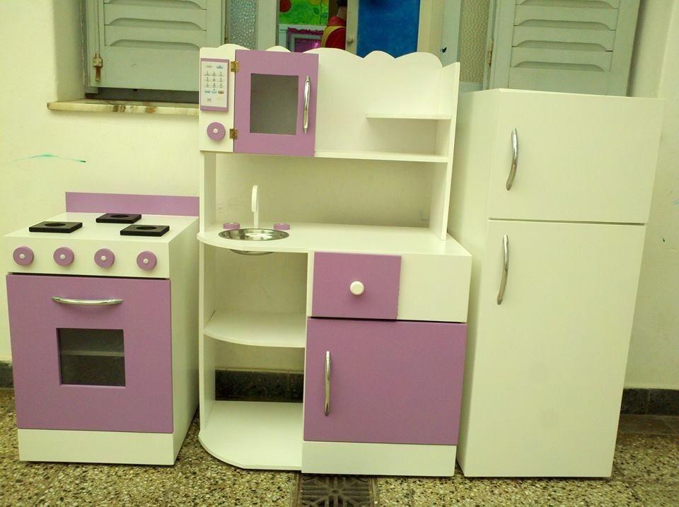 Mueble Cocina Infantil Rincon Juego Casita Infantil Madera - $ 7.500 ...