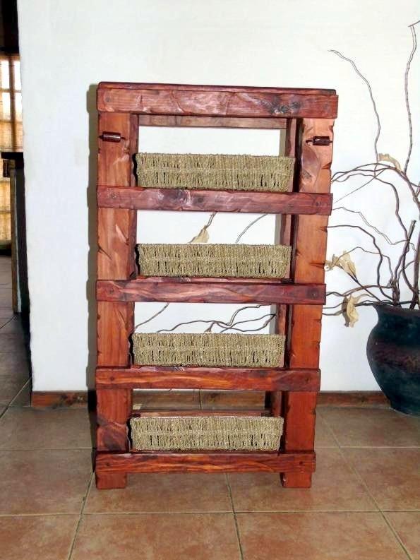 Mueble cocina madera tratada aplique de hierro decoformas for Muebles de cocina de hierro