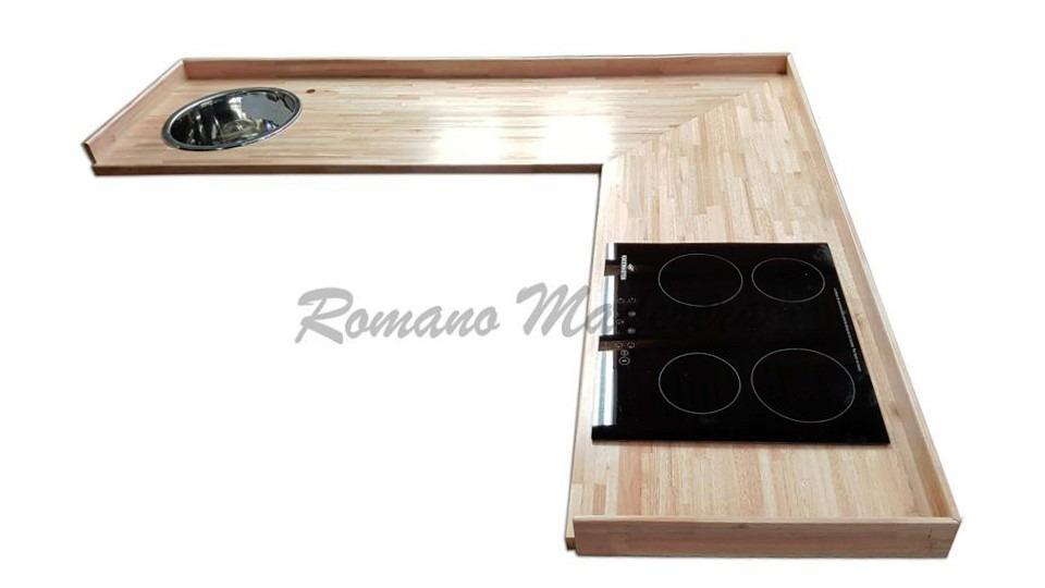 Mueble Cocina Mesada Madera Lista Para Colocar