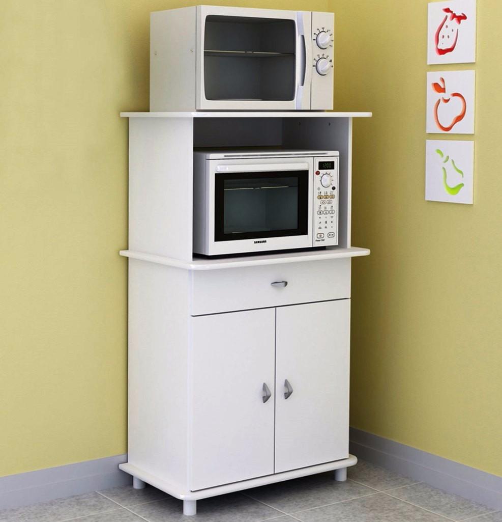 Mueble Cocina Puertas Inferiores Caj N Espacio Microondas  # Muebles Nazca Y Nogoya