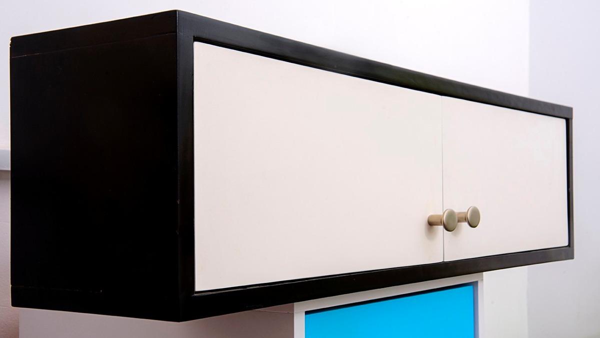 Puertas para muebles elegant exposicin de acabados de for Armario colgante bano