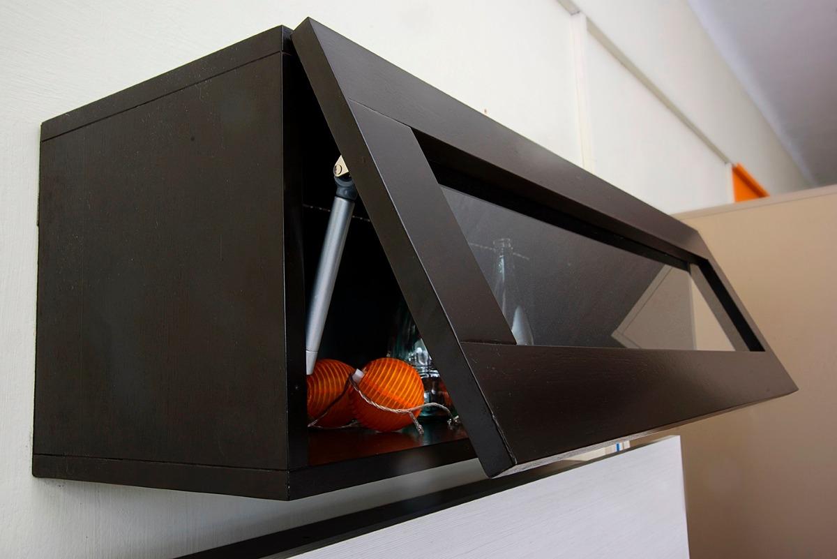 Mueble Colgante Con Puerta Neumatica Para Baño-living-cocina ...