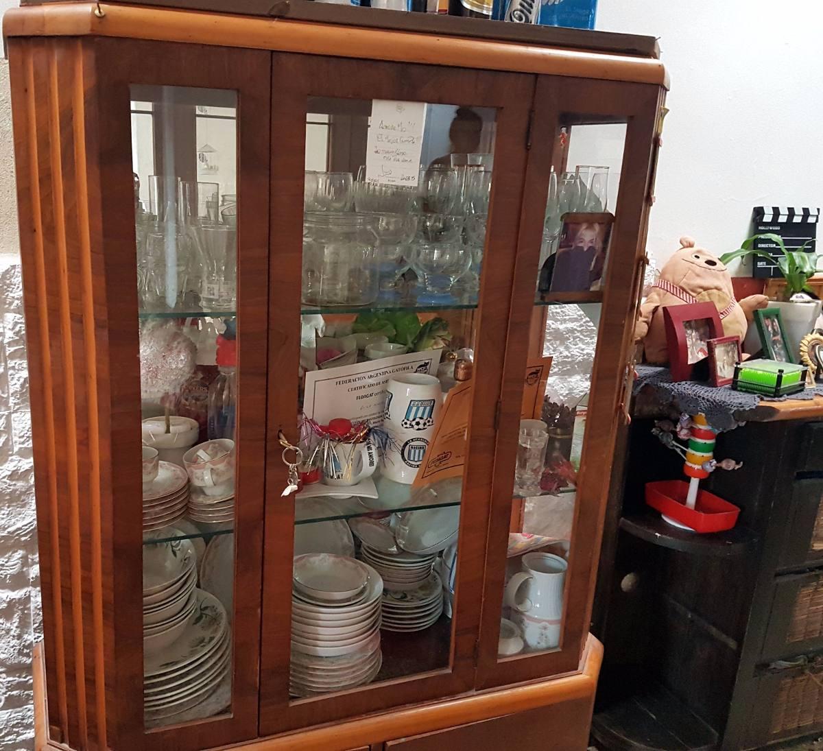 Mueble Comedor Cocina Copero Madera Antiguo Muy Buen Estado ...