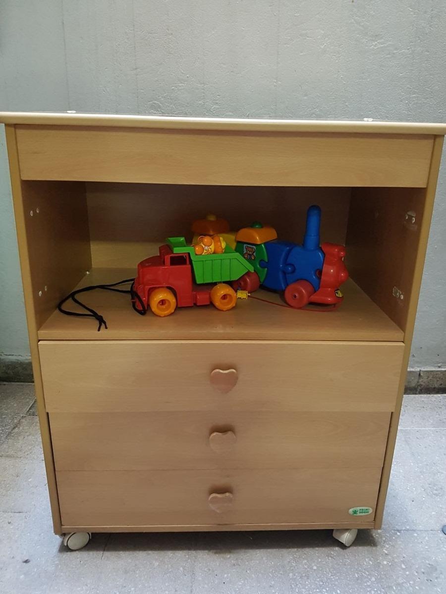 Mueble Con Cajones Ideal Para Cuarto De Niños - $ 1.800,00 en ...