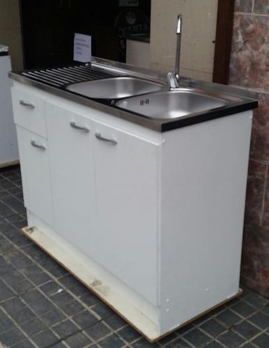 mueble con lavaplato eco 120 - ikean