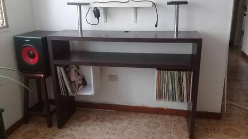 mueble consola rack case technics