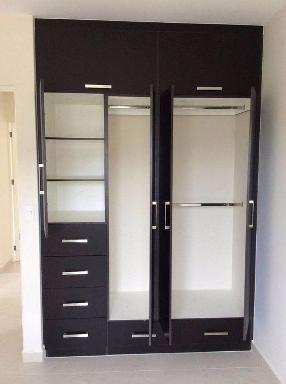 Mueble d melamina para dormitorio closet s 749 00 en for Closet en melamina modernos