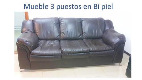 mueble de 3 puestos en bipiel usado remate