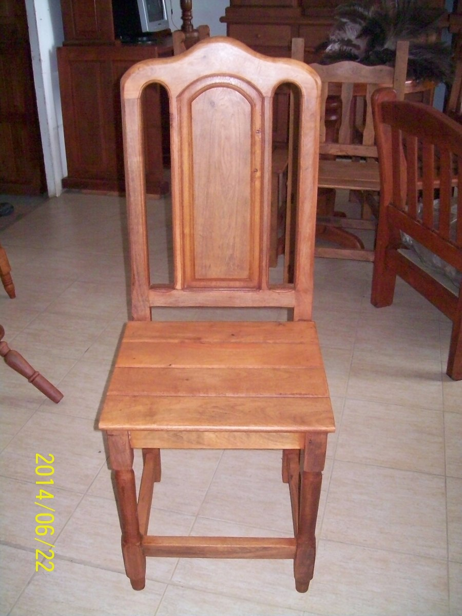 Mueble De Algarrobo - Silla Tamara M. Todoalgarrobosrl - $ 900,00 en ...