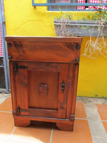 mueble de bao madera maciza