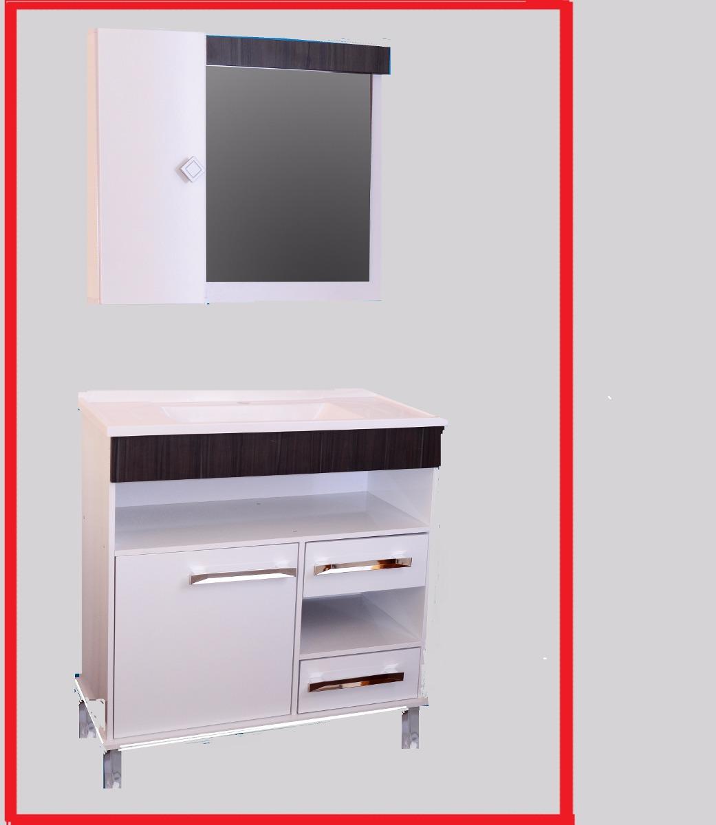 Muebles Para Baño Uy:Mueble De Baño Bacha Pileta Botiquin Espejo Exclusivo – $ 5890,00 en