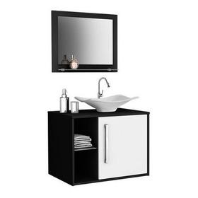Mueble De Baño Baden Con Lavamanos Y Espejo