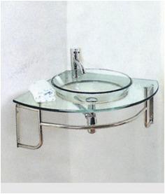Mueble de ba o con bacha esquinero vidrio u s 168 00 en for Mueble esquinero bano