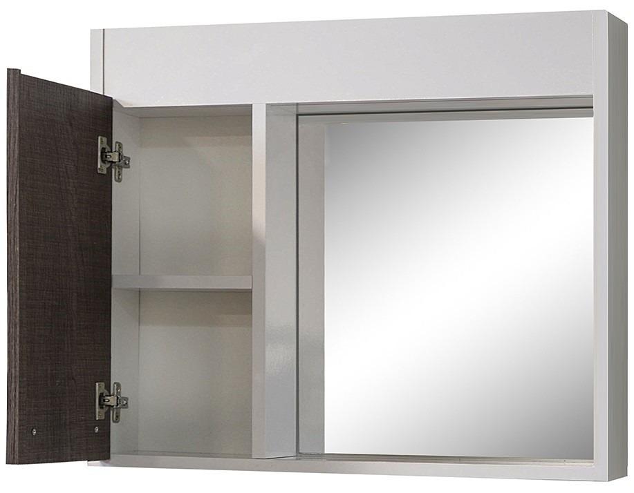 Mueble de ba o con pileta y botiqu n a reo con espejo for Muebles bano montevideo