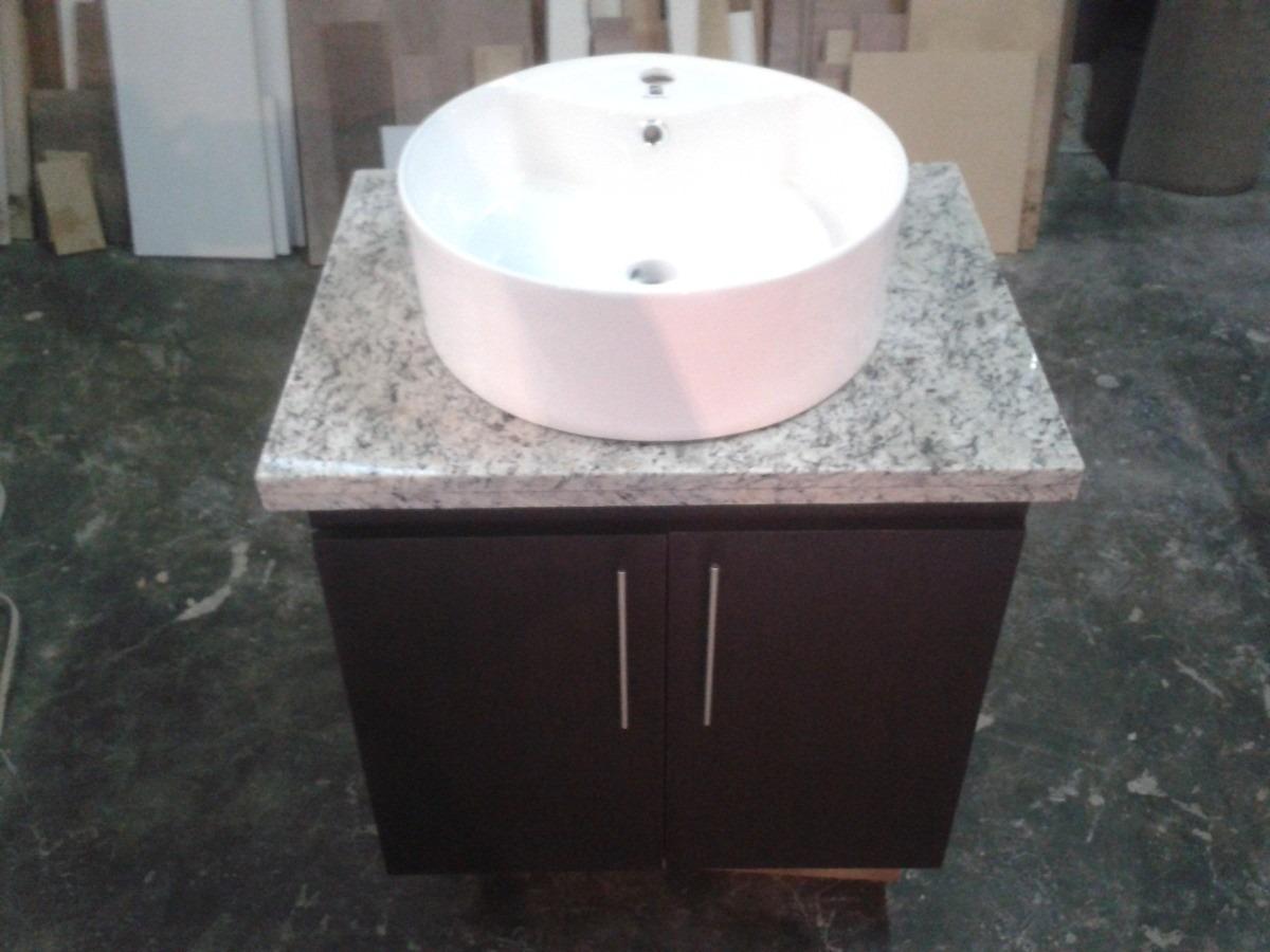 Mueble de ba o con tope de granito bs en for Informacion sobre el granito