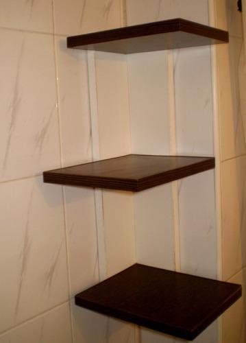 mueble de baño esquinero organizador de baño,