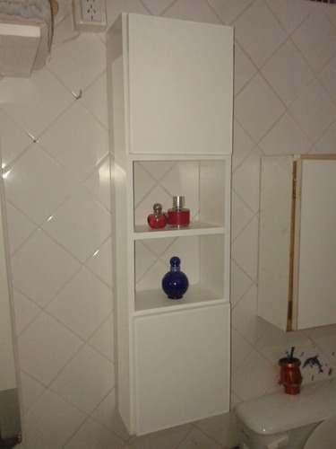 mueble de baño madera, organizador de baño