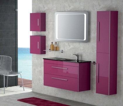 Mueble de ba o moderno con espejo bs en - Mueble bano con espejo ...